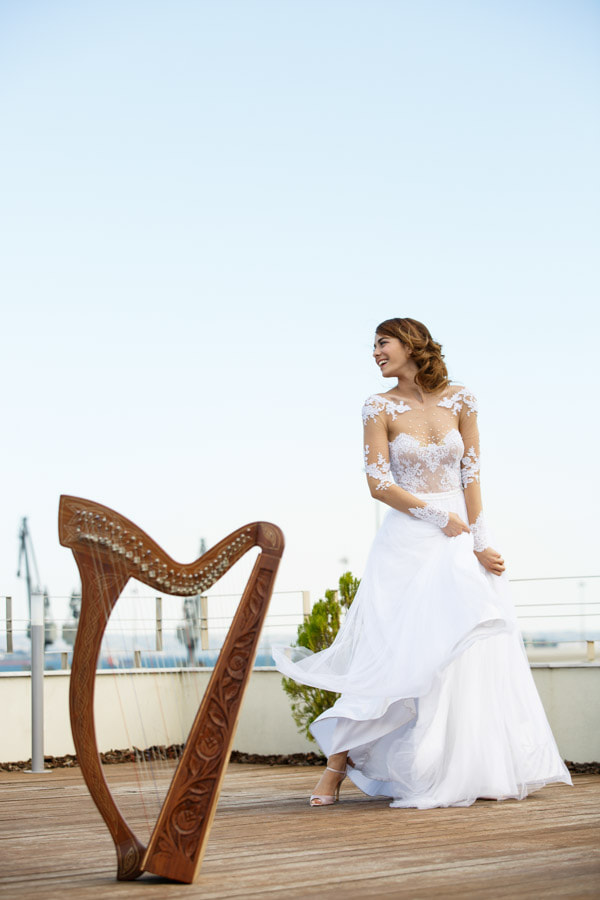 Wedding Harp AVANT GARDE Events